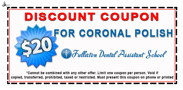 dental assistant coupon