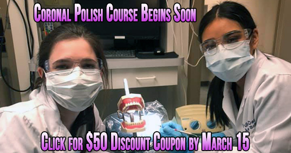 Coronal Polish Dental Assistant
