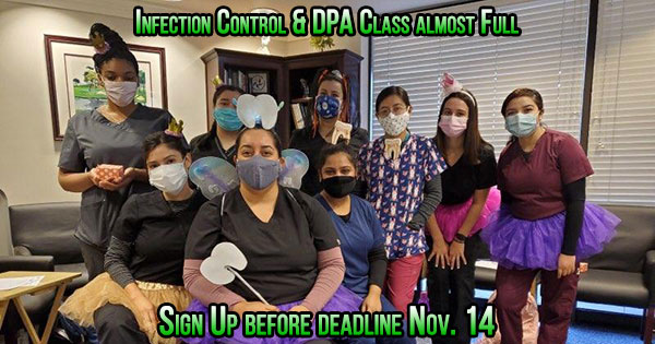 dental assistant infection control