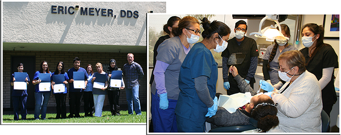dental assistant training